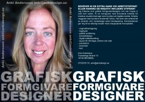 Photo and written presentation of Anki Andersson